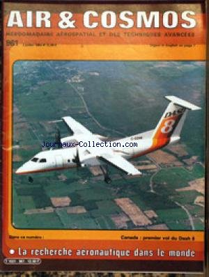 AIR ET COSMOS [No 986] du 28/01/1984 - SEATLE - LE B 737-300 - AVION DE COMBAT EUROPEEN - LAS VEGAS - HELICOPTERE - DES JAGUAR AU NEVADA - SALON AERONAUTIQUE DE SINGAPOUR - TELEDETECTION SPATIALE. par Collectif