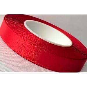 Nastro di raso 25m X 15mm rosso regalo della cordicella della barra multifunzione DEKOB