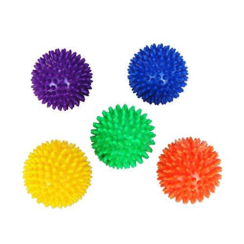 7.5cm PVC Fitness Ball iky Mas Ball Crossfit Fuß Muskelschmerzen Stress Relief Triggerpunkt-Schwein Reflex Kugel: Orange ()