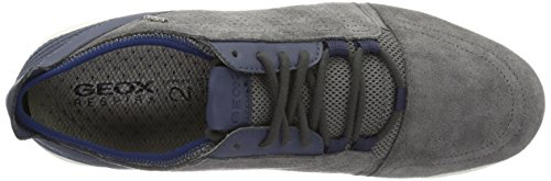 Geox U Xunday 2fit B, Baskets Basses Homme Gris (Anthracite/Lt Navyc9Ab4)