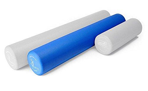 SISSEL pilates pro roller fitness x 90 cm (bleu)