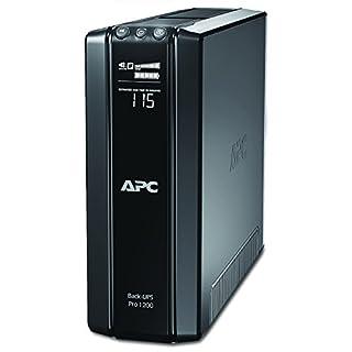 APC Power-Saving Back-UPS PRO - BR1200GI - Uninterruptible Power Supply 1200VA (AVR, 10 Outlets IEC-C13, USB, Shutdown Software)