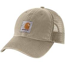 Carhartt Gorra Buffalo - Tan Sombrero Gorra de Beisbol Logotipo 100286 232 CH100286TAN