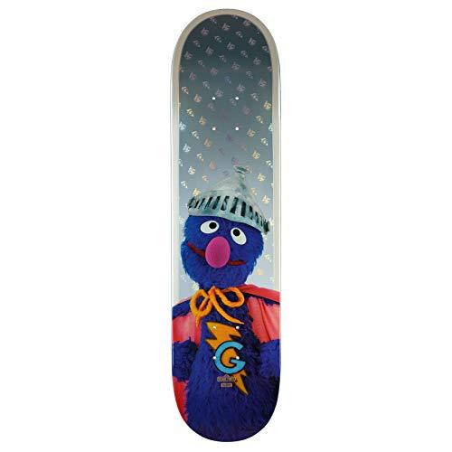 Globe Skateboard Deck G2 Sesame Street Series Super Grover (Big Und Bird Grover)