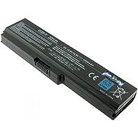 Batería para Toshiba PA3817U-1BRS, {6} celdas, iones de litio, 10.8 V, 4400 mAh, negro