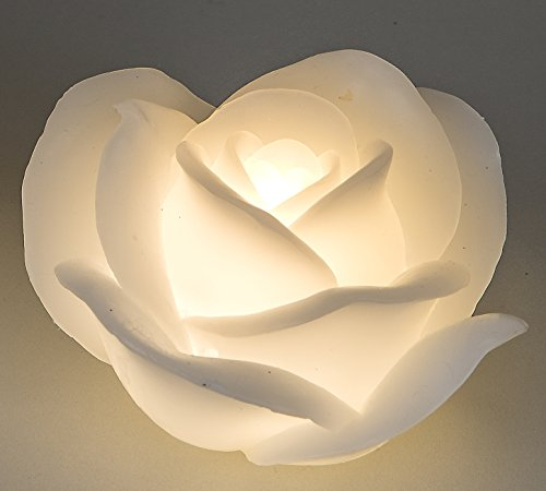Formano – Figura decorativa con vela Rose con LED 11 cm