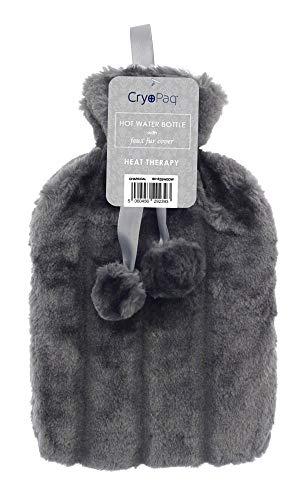 Higiene y cuidado Zerama Portable 2000ml Hot Water Bottles Cover Knitted Winter Warm Hand Warmer Water Bag Knitting Clothes Bebé
