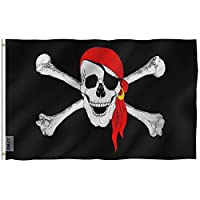 Anley Fly Breeze 3x5 Foot Pirate Flag