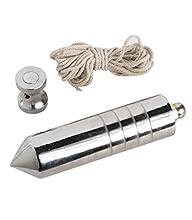 Maurer 2520205 Fil à plomb professionnel avec noix et aimant (400 g)