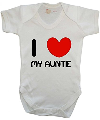 I Love My Auntie baby vest / baby grow