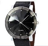 Asremit 1PCS Hohle Schwarze manuelle mechanische Uhr des Mannes.