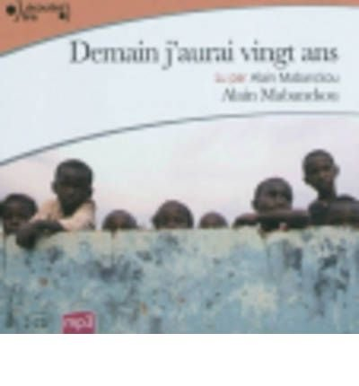Demain J'Aurai 20 Ans Lu Par Alain Mabanckou (Paperback)(French) - Common