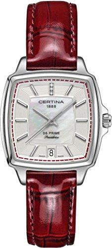 Certina DS Prime C028.310.16.426.00 Reloj de Pulsera para mujeres con diamantes genuinos