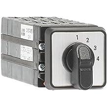 Abb-entrelec omst43pb - Conmutador 4 posición 3 polos 10a montaje puerta