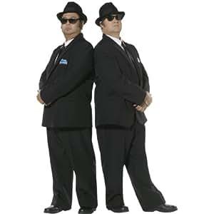 Smiffys - Sm30377/L - Costume Bleus Brothers Noir - Taille L