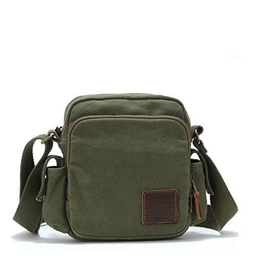 Canvas-Taschen/Umhängetasche/Incline Umhängetasche/Outdoor Freizeit Tasche Sporttasche-B B