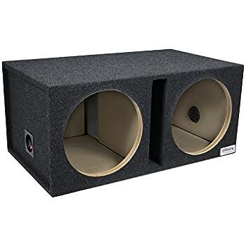 Inex 12 30cm MDF Twin Sealed Car Audio Speaker Sub Subwoofer Bass Box Enclosure 60L