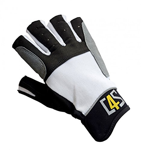 Gill Deckhand Segelhandschuhe Long Finger für Damen und Herren 2 Finger frei Bootsport