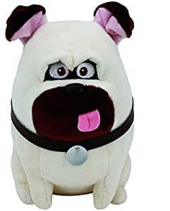 Secret Life Of Pets Mel Soft Toy Ty Beanie Babies Baby Beanies Pug Dog Plush
