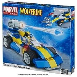 Mega Bloks 91285 Marvel Wolverine Racer with Minifigure (RARE)