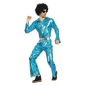 Bristol Novelty AF092 - Mono de discoteca para hombre, talla única, color azul