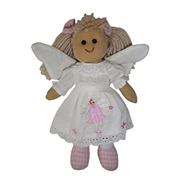 Angel Rag Doll - Handmade - Medium 19cms - Powell Craft 0