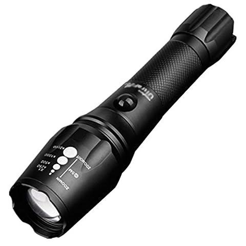 Taschenlampe Starke Licht Charge Super Long-Range Nachtfischen T6 Explosionsgeschützte militärische