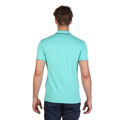 La Martina Herren Poloshirt Blau