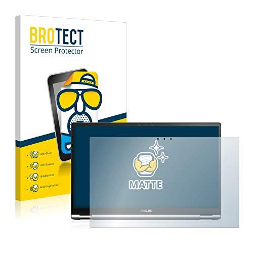 BROTECT Entspiegelungs-Schutzfolie kompatibel mit Asus ZenBook Flip 15 UX562FD (1 Stück) - Anti-Reflex, Matt