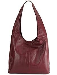 310cf1e3299ca Leder Handtasche Schultertasche Shopper Modena Damen Ledertasche  Umhängetasche - Farbauswahl - 37x30x13 (