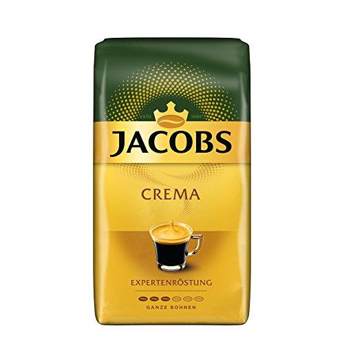 Jacobs Expertenröstung Crema, Kaffee Ganze Bohne, 1er Pack (1 x 1 kg)