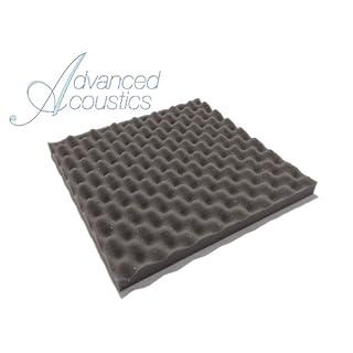 Advanced Acoustics Akustikschaumstoff / Schaumstoff-Fliesen (ca. 38 cm, Eierpappe-Design)