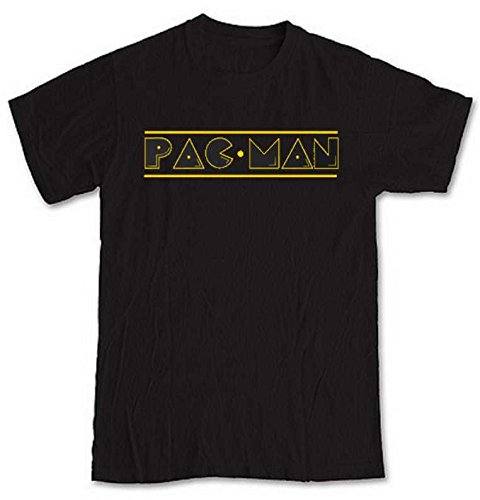 Pac Man 80s Logo T-shirt for Men - M to 2XL