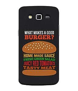 PrintVisa Designer Back Case Cover for Samsung Galaxy Grand 2 :: Samsung Galaxy Grand 2 G7105 :: Samsung Galaxy Grand 2 G7102 :: Samsung Galaxy Grand Ii (Love Lovely Attitude Men Man Manly)