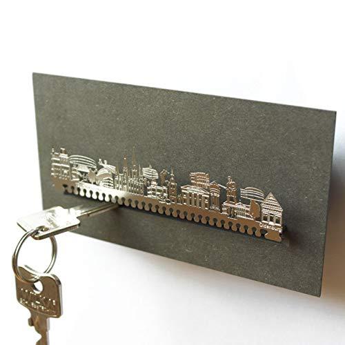 13gramm Oldenburg-Skyline Schlüsselbrett Souvenir in der Geschenk-Box