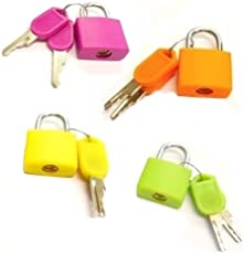 ROYALS TRI-CIRCUS Multicolor Luggage Lock (Set of 4)