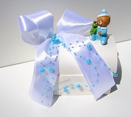 Geschenktruhe Geldgeschenk Geschenkbox zur Taufe oder Geburt blau