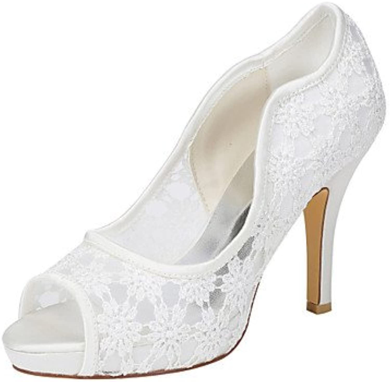 Zormey Women'S Heels Summer Club Shoes Stretch Satin Wedding Party &Amp; Evening Dress Stiletto Heel Applique...