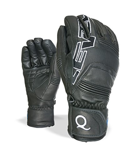 Level Handschuhe Quantum I-Touch, 01 black, 8,5, 3205UG