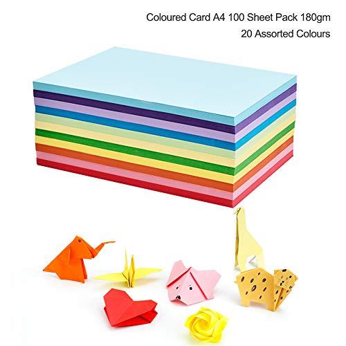 10/Bogen Assortiti 50/x 70/cm /Cartoncino con Fantasie Basics Bringmann Folia 46409/ Colore: Blu