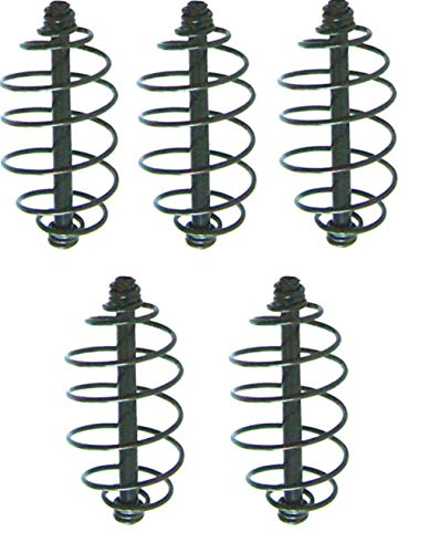 Kleines Angelzubehör Sport 10 Futterspiralen Länge 6,5cm 5,5cm 5,0cm Feederkorb Futterkorb Spirale Neu