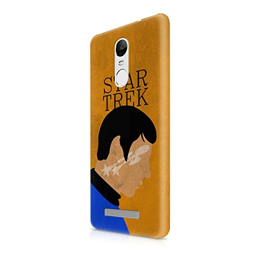 Star Trek Spock Portrait Hard Snap-On Protective Case Cover For Xiaomi Redmi Note 3