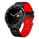 LTJX Fashion Smartwatches für Damen Herren, Wasserdicht Intelligente Uhr Voll Touchscreen Fitness Armband Armbanduhr Herzfrequenzmessung kompatibles IOS und Android