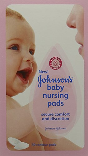 Coussinets d'allaitement Johnson & Johnson Baby, lot de 6