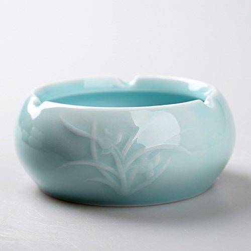 Znzbzt Porzellan Farbe Universal rauchen Zylinder manuell blau gefliesten personalisierte kleine...