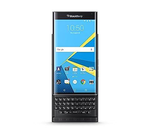 BlackBerry Priv Smartphone, 32Go, noir [Italie] (français non garanti)