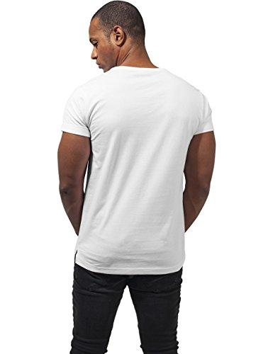 Urban Classics Herren T-Shirt Turnup Tee Weiß (white 220)