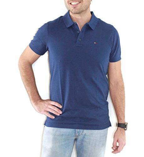 Tommy Jeans Herren Poloshirt Blau (Blue Depths 430)