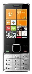 I KALL K6300 Dual Sim 2.8 Inch Display Mobile Phone with Bluetooth, GPRS, Flash light, 1800 mah battery capacity- Silver