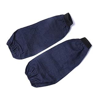 ATOPLEE 2 Pairs Welding Denim Wear-Resistant Dustproof Sleeves
